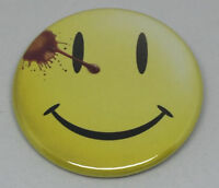 "Watchmen Smiley 50mm 2"" Pin Badge Button Faded / Degradado Chapa con imperdible"