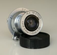 Leica Leitz Elmar 5cm 50mm f3.5 M39 LTM Lens - in Excellent condition