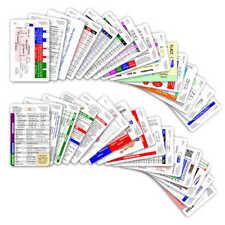 Comprehensive Vertical Badge Card Set - 30 Cards - Reference Pocket ID Card