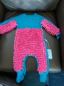 NEW! Baby Mop Romper Jumper/Bodysuit 4-6 Months