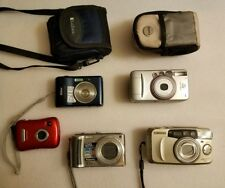 Camera lot, Canon 80u, Samsung EVOCA140s, lumexDMC-TZ5, Nikon COOLPLX L18.