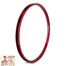 "WEINMANN AS7X   36H---26"" x 1.75 ANODIZED RED BICYCLE RIM"