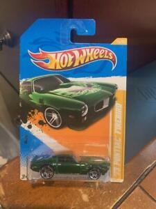 2012 Hot Wheels New Models '73 Pontiac Firebird #16 Green