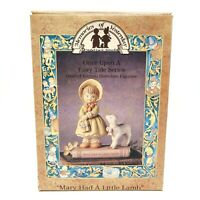 Mary Had a Little Lamb Memories Of Yesterday #13454 of 18K Vintage 1992 NEW