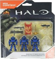 Mega Construx Halo Spartan CTF Base Crashers Building Set FNR84
