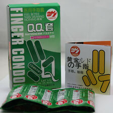 10 PCS Special Finger Latex lubricant Condoms COME FROM FAMILY PLANNING COUNTRY