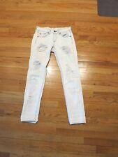 RAG & BONE light wash jeans w/ripped detail size 23