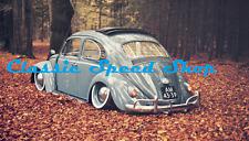 """4X15 White wall VW Beetle/Splitscreen Bay window Camper Fits 15"""" Steel Wheels"""
