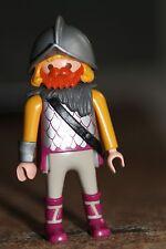 PLAYMOBIL - personnage-HOMME soldat guerrier epee casque moyen age couronne