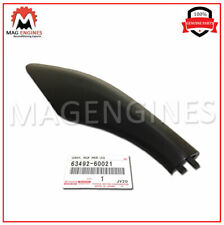 63492-60021 GENUINE OEM FRONT ROOF RACK LEG COVER, LH 6349260021