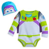 Disney Pixar Toy Story Buzz Lightyear Baby Costume & Hat Size 3 6 9 12 18 24