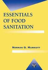 Essentials of Food Sanitation (Food Science Text Series), Marriott, Norman G., U