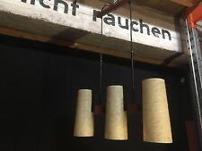 60er TEAK Pendant Lamp MIDCENTURY 60s VINTAGE LAMP Hartfaser DANISH DESIGN