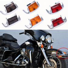 Front/Rear Fender LED Tip Light For Harley Davidson Touring Heritage Softail US