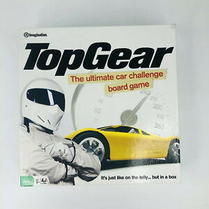 BBC TOP GEAR Official Ultimate Car Challenge Board Game The Stig 2008 Complete