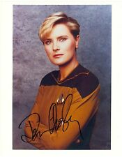 Denise Crosby Tasha Yar Star Trek autograph 8x10 color photo signed Walking Dead