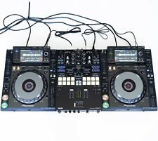 DJ-Set: 2x Pioneer CDJ 2000 NXS Nexus + 1x Pioneer DJM S9 + Kabel