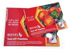 Reeves 9x12 Tear-off Palette Paper Pad (pack of 40)