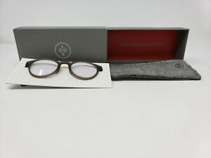 LOOK Optic Abbey Screen Readers Espresso Reading Glasses +1.5 47-20-145 NEW