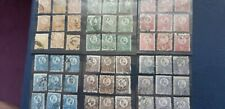 Hungary 1871 9x Mi.8-13 stamped collection