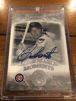 2004 Upper Deck 1969 Memorable Moments On Card Autograph Ron Santo Chicago Cubs