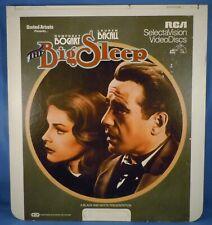 Rca Ced Videodisc! - The Big Sleep with Humphrey Bogart & Lauren Bacall