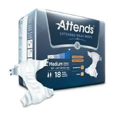Attends Extended Wear Brief Medium DDEW20 Pack of 18