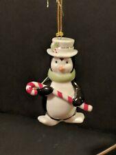 Lenox Very Merry Porcelain Christmas Ornament Penguin