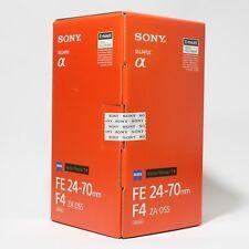 Sony Zeiss Vario Tessar T* FE 24-70mm F4 ZA OSS Lens Carl Zeiss SEL2470Z