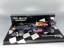 1/43 Minichamps 2011 RED BULL Renault Racing RB7 Mark Webber Part # 410110002