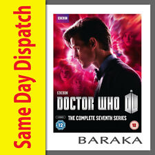 DOCTOR Dr WHO Complete Series Season 7 Part 1 & 2 DVD 7th Seven Box Set BBC
