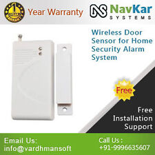 Wireless Door Sensor for Home Security Alarm System