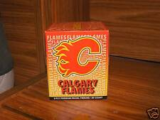 NHL Calgary Flames Tissue Cube 85 Count 2 Ply NEW