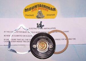 "Electric Choke Kit Carter 2 bbl BBD Carburetor 80-90 Jeep AMC 4.2 258"""