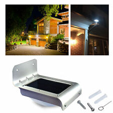 24 LED Solar Power PIR Motion Sensor Wall Light Outdoor Waterproof Garden Lamp