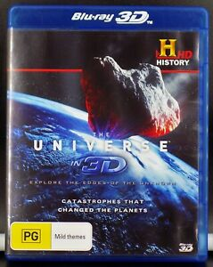 THE UNIVERSE IN 3D - Catastrophes That Changed The Planets --- ( Blu-Ray 3D )