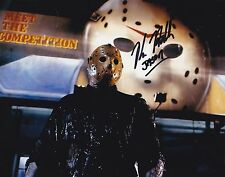 KANE HODDER JASON VOORHEES SIGNED 8X10 PHOTO FRIDAY THE 13TH PT 8