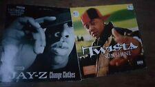 """Jay-z change clothes Twista sunshine 12"""" Record X2 Hip Hop Rap"""