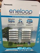 10 Pack Eneloop  4th generation NiMH Pre-Charged Rechargeable 2100Cycles Battery