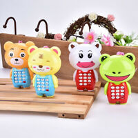 1Pc cartoon music phone baby toys educational learning toy phone gift for kidsES