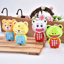 1Pc cartoon music phone baby toys educational learning toy phone gift for kidsYF