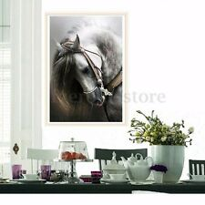 DIY 5D Diamond Painting Horse Embroidery Cross Crafts Stitch Home Decor Kits HOT