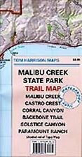 Tom Harrison Maps: Malibu Creek State Park Trail Map by Tom Harrison (2009)