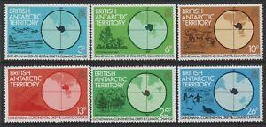 British Antarctic Territory 1982 Gondwana set of 6 Mint Unhinged