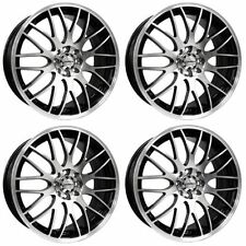 Calibre Polished Rims with 4 Studs