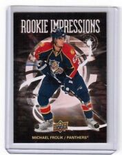 2008-09 Upper Deck Series 2 Rookie Impressions Michael Frolik Florida Panthers