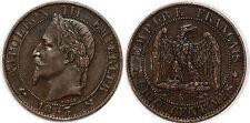 NAPOLEON III 5 CENTIMES 1863 K  TTB+++