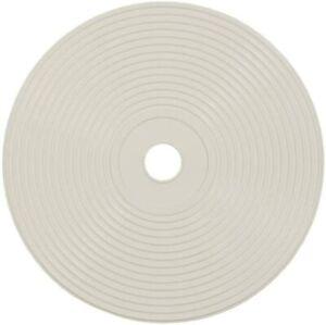 Coperchio in plastica da 21.3 cm per Skimmer da 15 L con foro centrale, Bianco