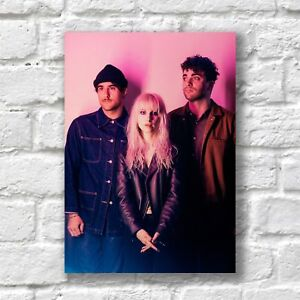 Paramore Poster A4 NEW HQ Print Hard Times #1 Home Wall Decor