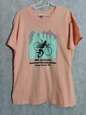 Nike Vintage 1987 National Cyclocross Crewneck T Shirt Kitsap County Washington